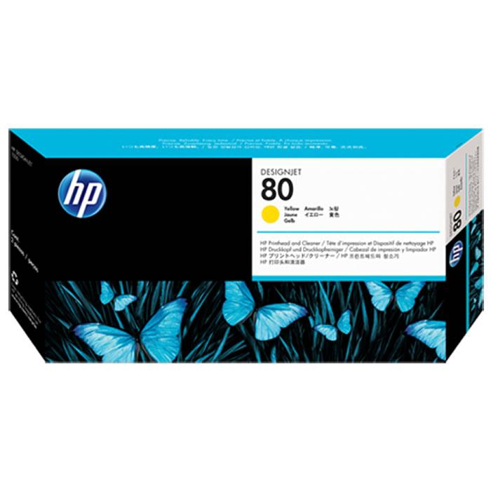 Cabeça de Impressão HP 80 C4823A Amarelo