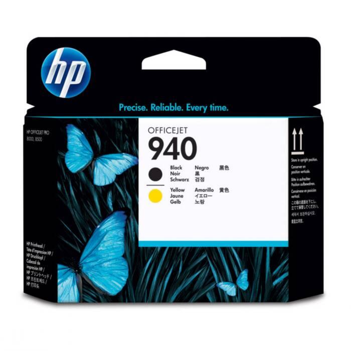 Cabeça de Impressão HP 940 C4900A Preto e Amarelo