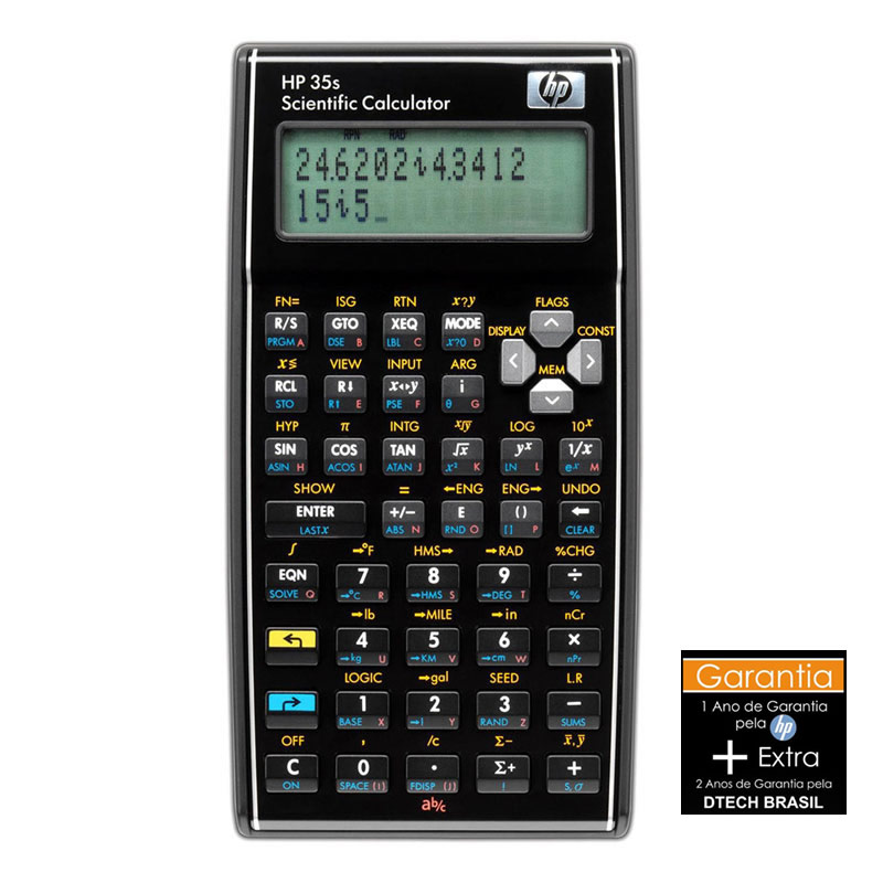 Calculadora Científica 35S HP