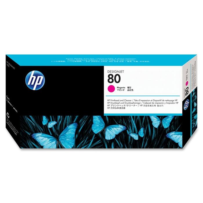 Cabeça de Impressão HP 80 C4822A Magenta