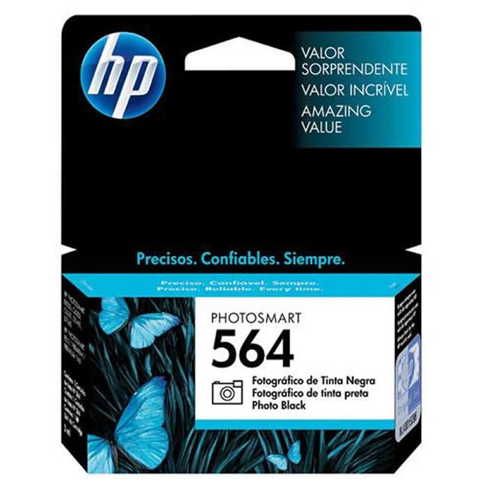 Cartucho de Tinta HP 564 CB317WL Preto Fotográfico