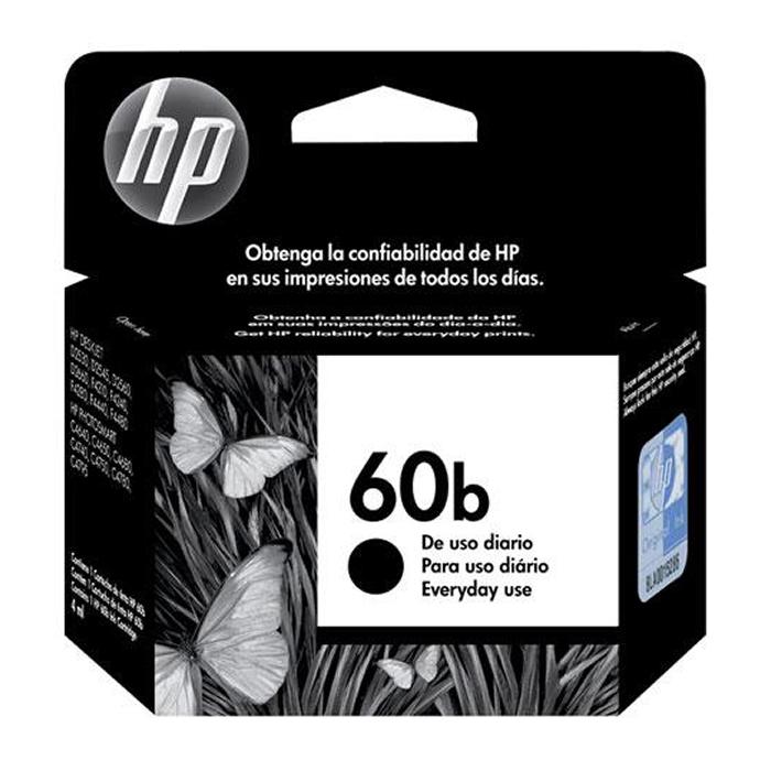 Cartucho de Tinta HP 60b CC636WB Preto