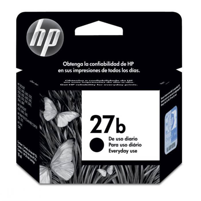 Cartucho de Tinta HP 27b C8727BB Preto