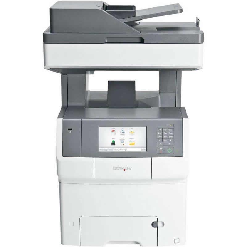 Impressora Multifuncional Laser Color X748DE Lexmark