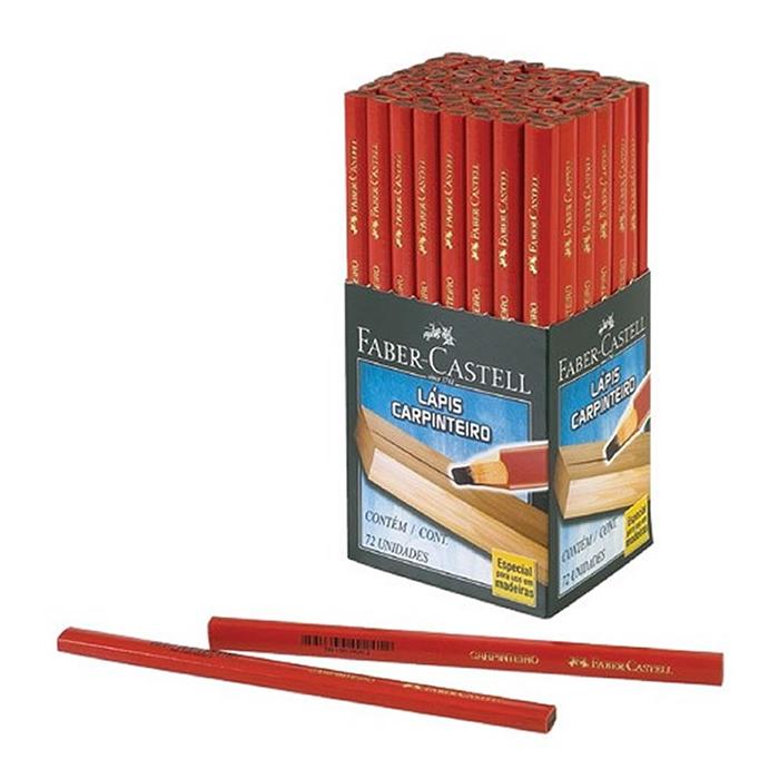 Lápis Carpinteiro CX. C/ 72 Un. 2835 Faber-Castell