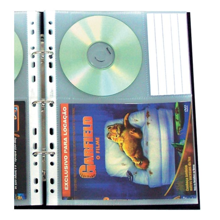 Porta DVD´S P/ 20 Un. 1410-3 Chies