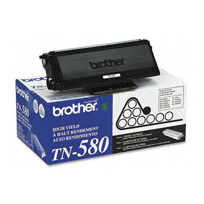Toner Brother TN 580 Preto