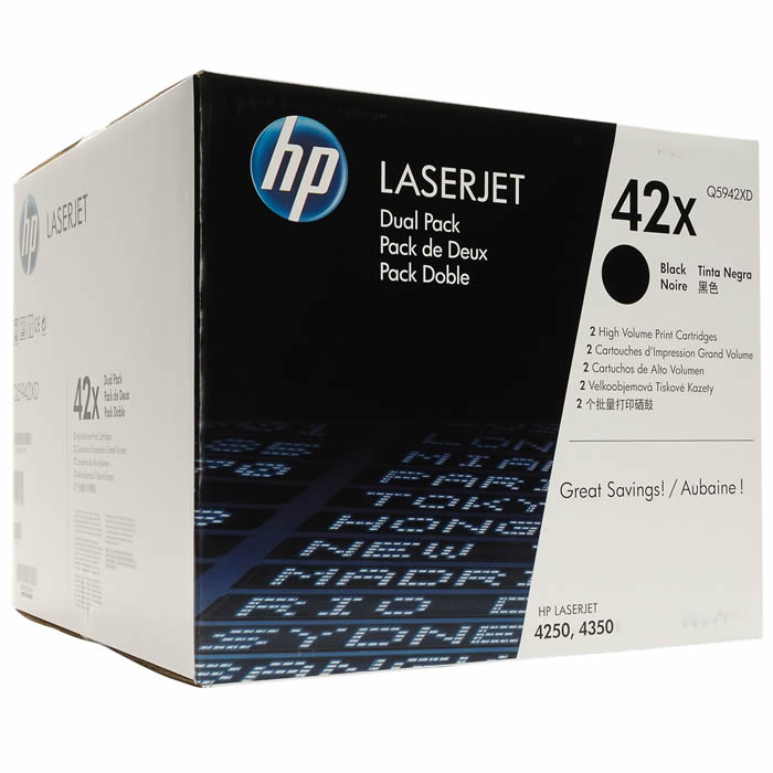 Toner HP 42X Q5942XD Duplo Preto