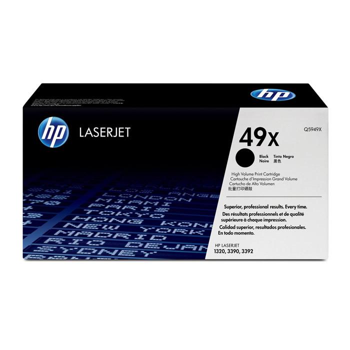 Toner HP 49X Q5949X Preto