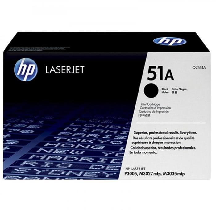 Toner HP 51A Q7551AB Preto