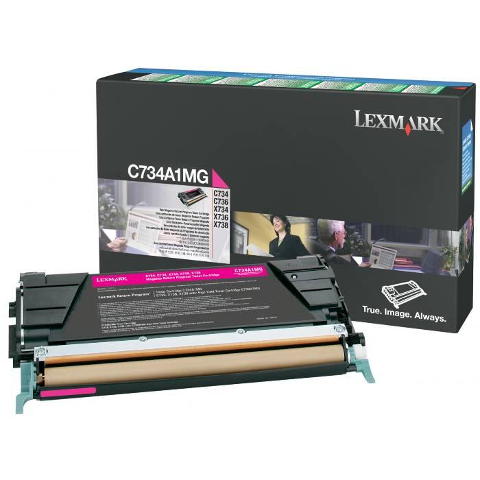 Toner Lexmark C734A1MG Magenta