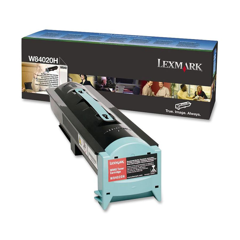 Toner Lexmark W84020H Preto