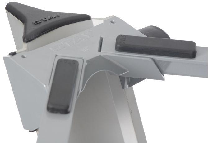 Suporte STAY Torre Aluminio para 2 Teclados 120CM de Altura com BAG 1300/2 Prata
