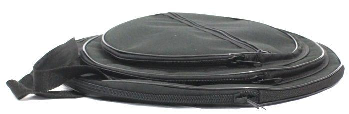 Capa Prato bateria Extra luxo até 20 com 3 divisórias G.R.