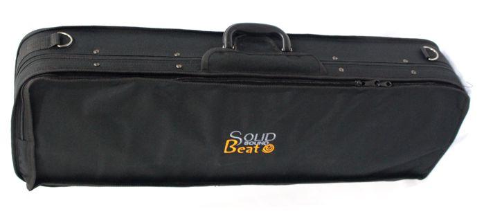 Case para Violino 4/4 Retangular - em Espuma Espandida NYLON 600 Solid Sound (apenas o Estojo)