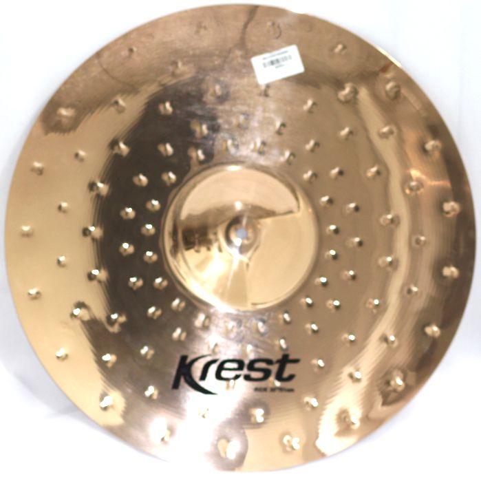 Prato Ride - Condução - 20 Serie Fusion da KREST CYMBALS Bronze B8