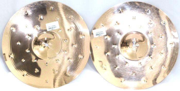 Prato HI-HAT - Chimbal - 14 Serie Fusion da KREST CYMBALS Bronze B8