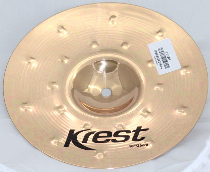 Prato SPLASH 10 Serie Fusion da KREST CYMBALS Bronze B8