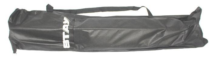 Suporte STAY SLIM Aluminio para 2 Teclados 110CM de Altura com BAG Simples 1100/2 Prata SLIM