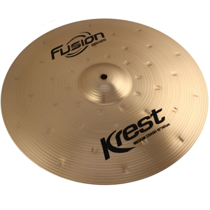 Prato Power CRASH - Ataque - 18 Serie Fusion da KREST CYMBALS Bronze B8