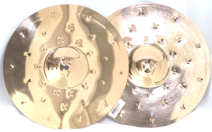 Prato Medium HI-HAT - Chimbal - 13 Serie Fusion da KREST CYMBALS Bronze B8