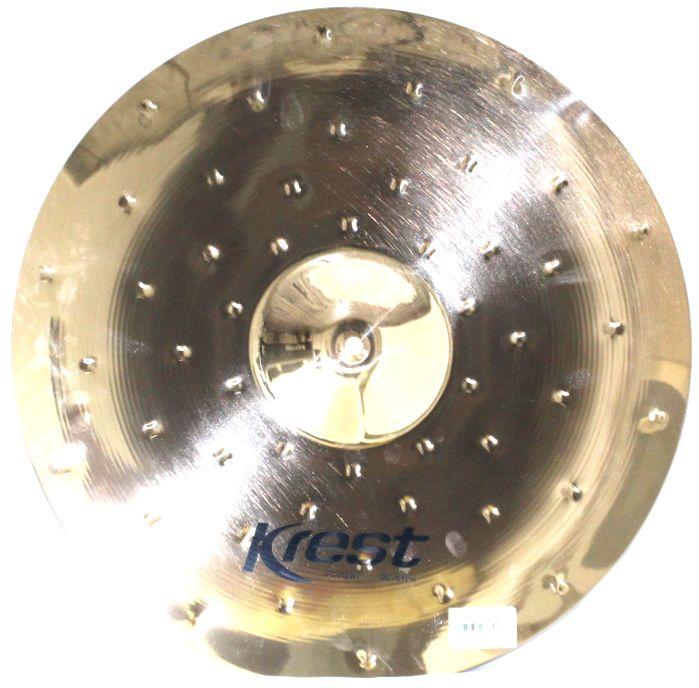 Prato Power CRASH - Ataque - 20 Serie Fusion da KREST CYMBALS Bronze B8