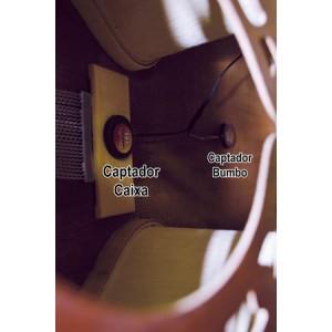 Tanajura Rozini Elétrico Percussão Cajon de Colo - RPT01 - Tanajura