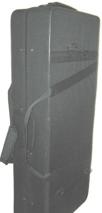 Case para SAX ALTO Retangular - Saxofone - em Espuma Espandida e NYLOM 600 Jahnke (apenas o Estojo)