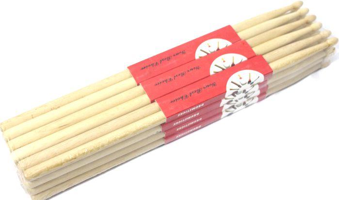 Baquetas 5A em Maple DRCK-6 Custom Pacote com 12 Pares
