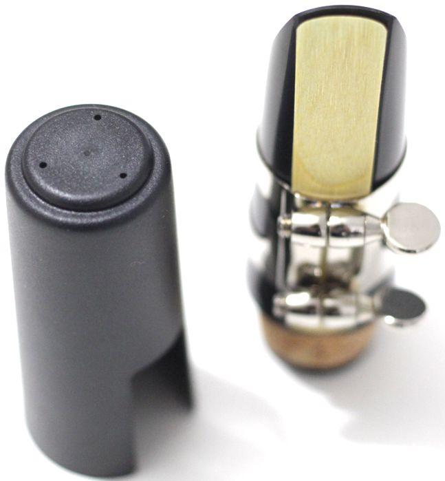 Boquilha em Massa para Clarinete Custom + Abraçadeira + Palheta + Cobre Boquilha