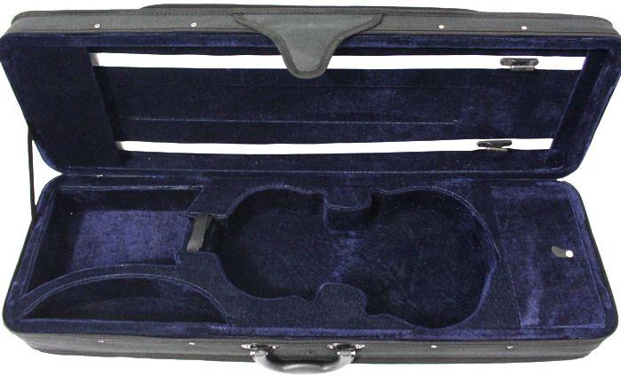 Case para Violino 3/4 Retangular - em Espuma Espandida e NYLOM 600 Jahnke (apenas o Estojo)