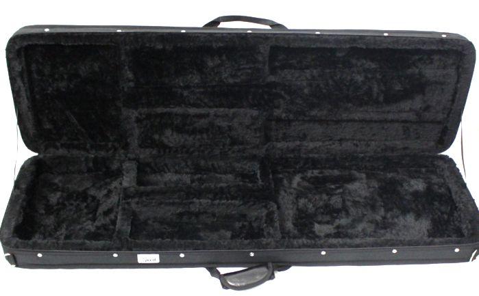 Case para Contra Baixo Retangular - em Espuma Expandida e NYLOM 600 Rover (apenas o Estojo)