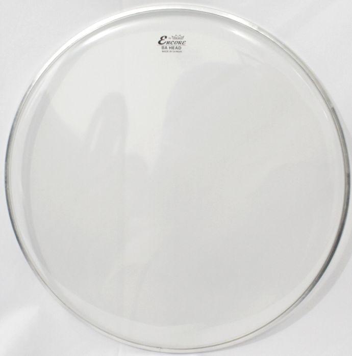 """Pele de Caixa e TOM de Bateria de 14"""" Remo Encore Ambassador Clear Transparente - EN-0314-BA"""