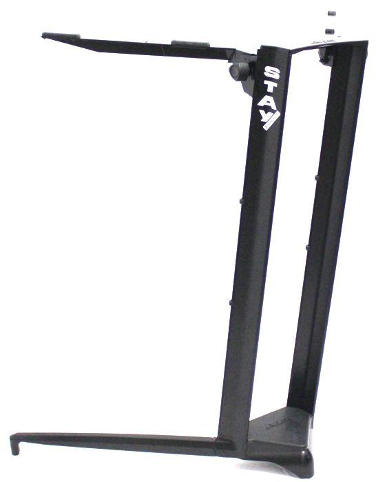 Suporte STAY Piano Aluminio para 1 Piano ou Teclado 100 CM de Altura com BAG 1000/1 Piano Preto BK