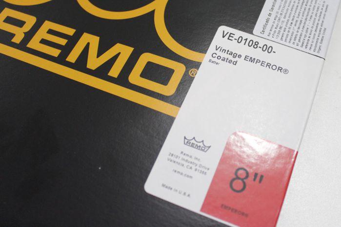 Pele TOM 08 Porosa Remo USA Vintage Emperor Coated - VE-0108-00