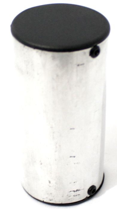 Ganzá Luen Chocalho Alumínio Pequeno 10 X 5 CM - 19017N