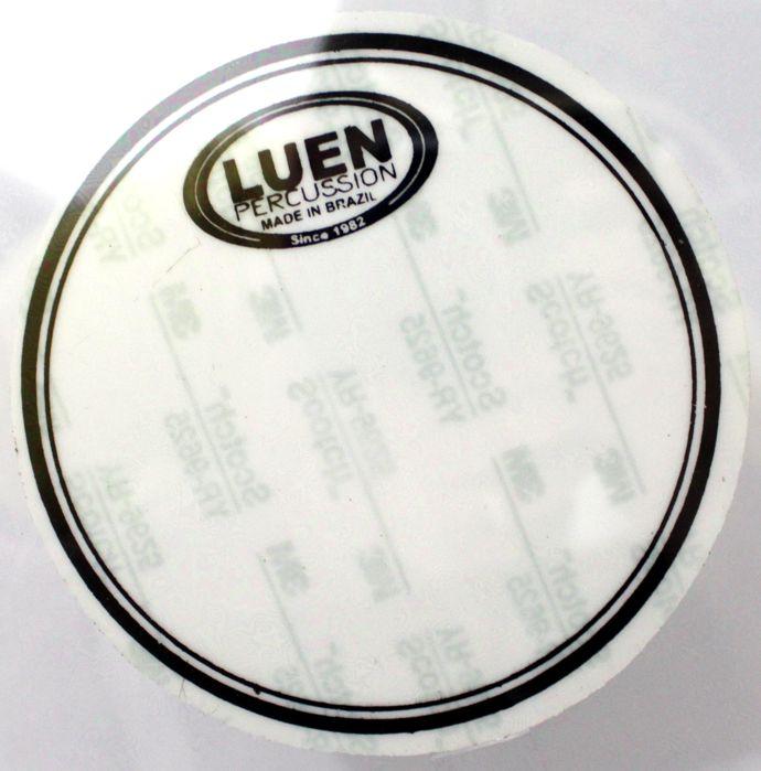 Pele de Bumbo de Bateria 20 Double Clear - Dudu Portes - Luen - 11026