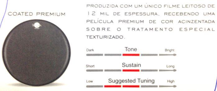 Pele Caixa 14 Dudu Portes Porosa Coated Premium Luen - 11077