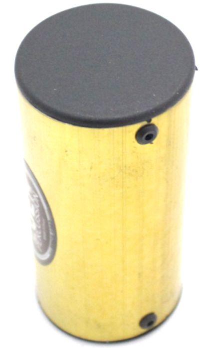 Ganzá Luen Chocalho Colorido Pequeno 10 X 5 CM Amarelo - 19017D