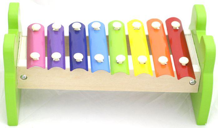 Metalofone Infantil Sapo - Xilofone Custom