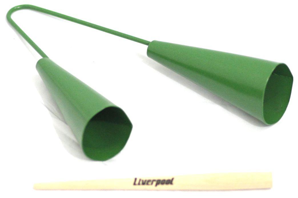 Agogo Duplo Pequeno Verde Liverpool AG DPV