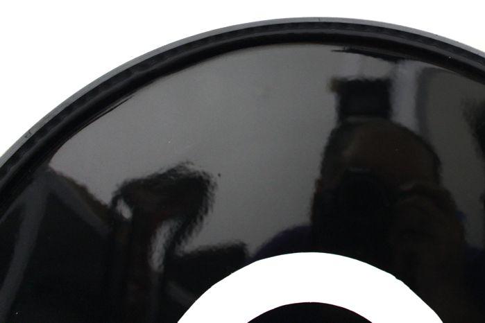 Pele Preta de Resposta de Bumbo de Bateria 18 - BD Dudu Portes - Luen - 11141