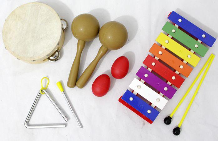 Kit de Percussão Infantil Custom - LT5