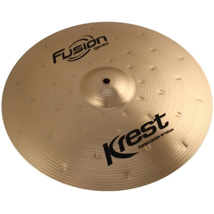 Prato Power CRASH - Ataque - 19 Serie Fusion da KREST CYMBALS Bronze B8