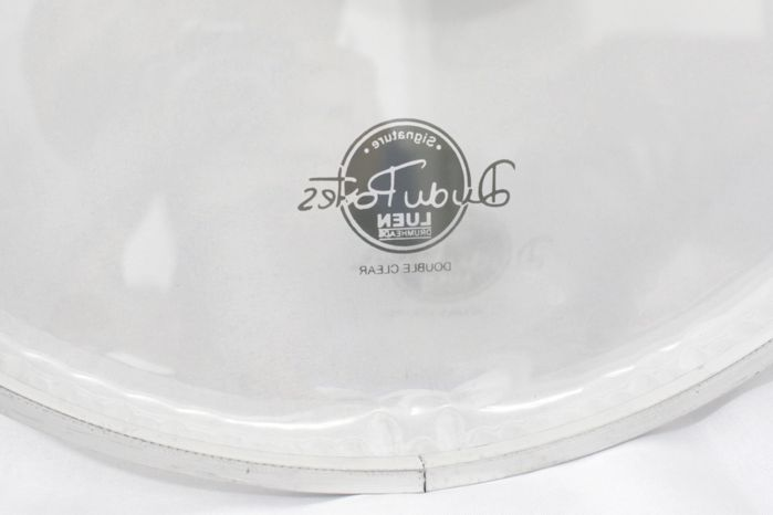 Pele de Bumbo de Bateria 18 Double Clear - Dudu Portes - Luen - 11025
