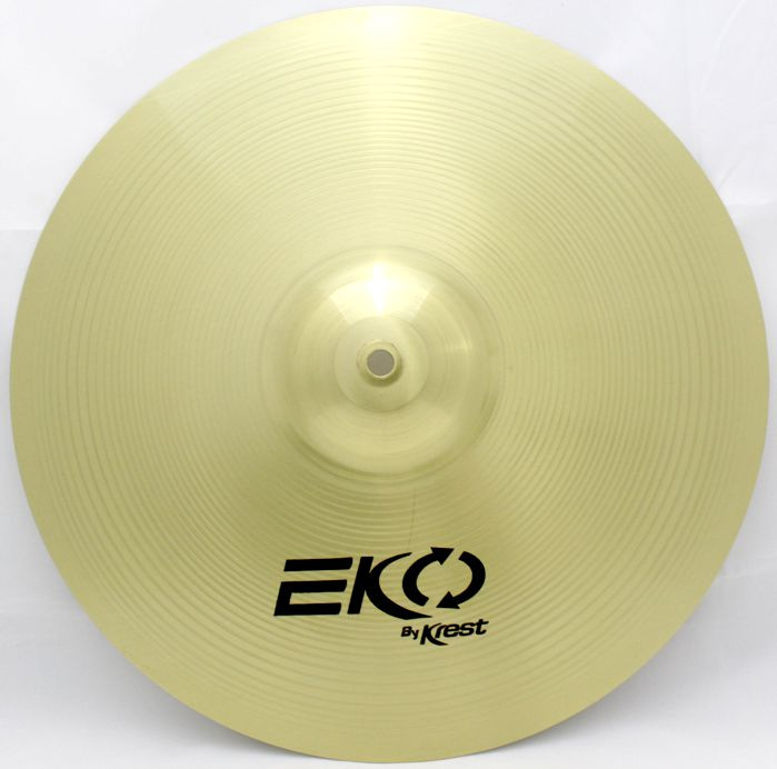 Prato Medium CRASH - Ataque - 16 EKO BY KREST CYMBALS Latão