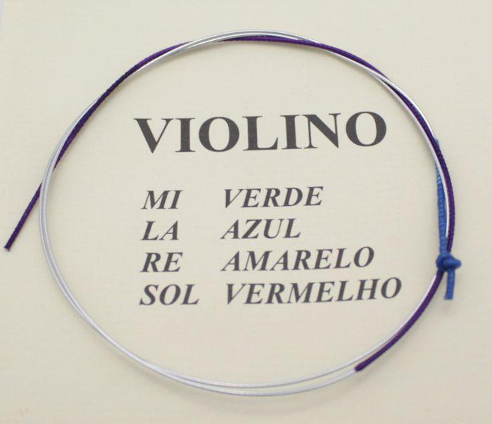 Corda LÁ para Violino Avulsa Mauro Calixto - Corda a AZUL