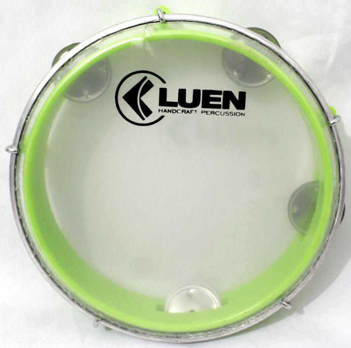 Pandeiro Luen 8 Junior ARO ABS Verde Pele Cristal - 40084VDC