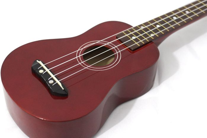 Ukulele Soprano Custom UK-01 4 Cordas NYLON - Ponta de Estoque