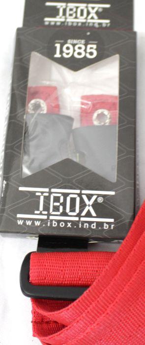 Correia IBOX Engate Rápido para Baixo / Violão / Guitarra Linha Colors Quick Release Vermelha - CQRV